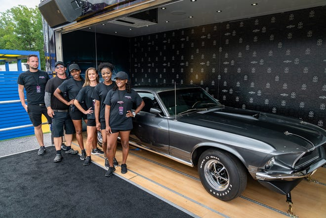 """The Mustang from the first two """"John Wick"""" movies will be parked outside Lambeau Field from 8 a.m. to noon Sept. 15 for photos."""
