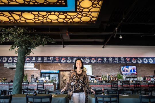 Alva Suk-Yin Mak, owner of Asia Pacific restaurant and supermarket in Greenville, specializing in authentic Chinese cuisine, fresh seafood and a variety of Asian foods and ingredients in the supermarket.