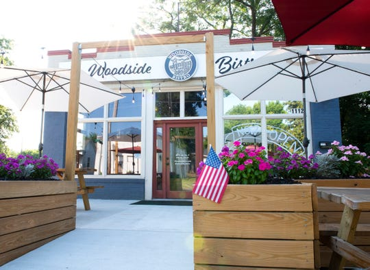 The exterior of Woodside Bistro
