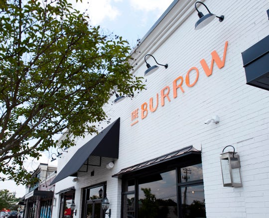 The exterior of The Burrow in Greenville.