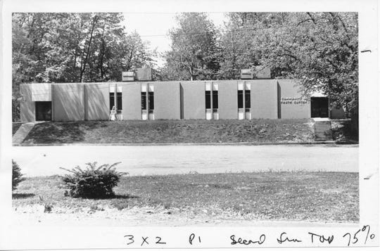 The Community Youth Center shortly after it was completed in September 1969. The building came under the control of Henderson County Senior Citizens Inc. in 1984 and has since been known as The Gathering Place. See Yesterday's News column of 9-8-2019 for a detailed account of the troubles getting the teen center financed and built. (Gleaner file photo)
