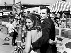 June Carter Cash through the years