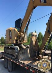 The St. Martin Parish Sheriff's Office said it found multiple stolen heavy equipment items on a Breaux Bridge man's property.