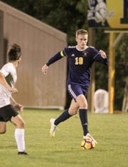 Hartland's Brett Kuhlman scored twice in a 3-1 victory over Howell, giving him five goals in his last two games.