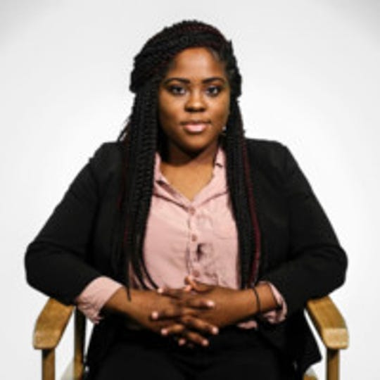 Miracle Chatman, Chief Diversity, Equity and Inclusion Officer for the Associated Students of Michigan State University (ASMSU) and one of three lead chairs of Students for a Multicultural Building.