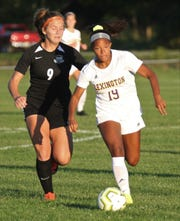 Lexington's Lacee Bethea scored her 50th-career goal in a 10-0 win over Mansfield Senior on Tuesday.
