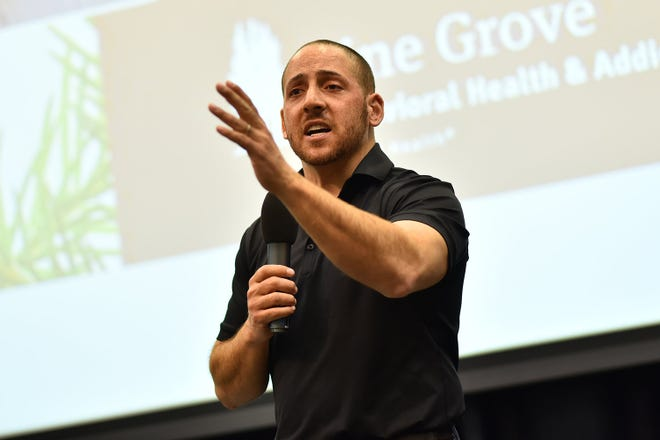 Kevin Hines tried unsuccessfully to end his life in 2000 by jumping off the Golden Gate Bridge in San Francisco. After surviving, he dedicated his life to sharing a message of hope with others. A documentary about his life and work will be presented in Crawford County two times this month.