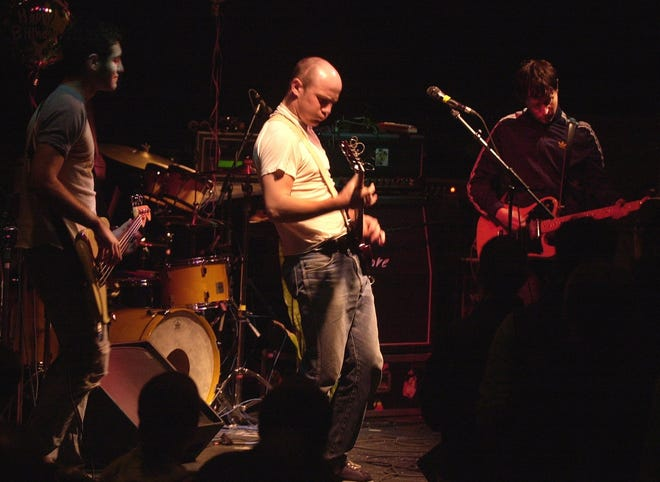 """Milwaukee band the Promise Ring, pictured here at a Miramar Theatre show in 2002, made Rolling Stone's new list of the 40 greatest emo albums of all time. Their sophomore album, """"Nothing Feels Good,"""" landed at No. 3."""