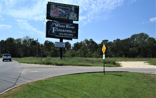 This property at the corner of U.S. Highway 62 Business and Oak Drive was one of 18 parcels of land that the Mountain Home City Council agreed to annex into the city Thursday night.