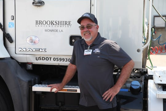 Layne Arant achieved the milestone of 1 million safely driven miles while working for Brookshire Grocery Co.
