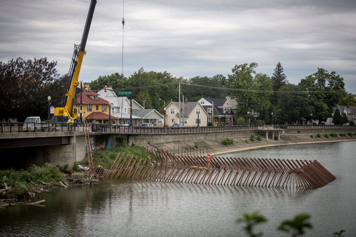 MSD work along High Street Bridge part of larger overall project