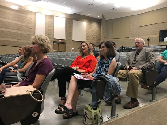 A handful of parents attended the recent district listening tour with Williamson COunty Schools Superintendent Jason Golden.