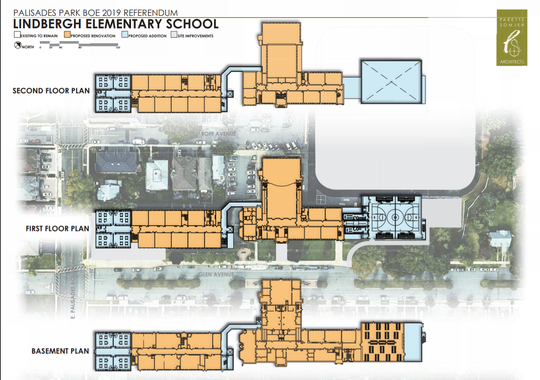 Proposed plans for Palisades Park Lindbergh Elementary school