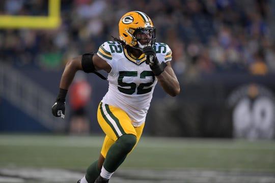 Green Bay Packers linebacker Rashan Gary, a former star at Paramus Catholic High School.