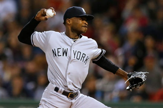 san francisco cce0d 370ce Yankees' Domingo German on leave under MLB domestic violence ...