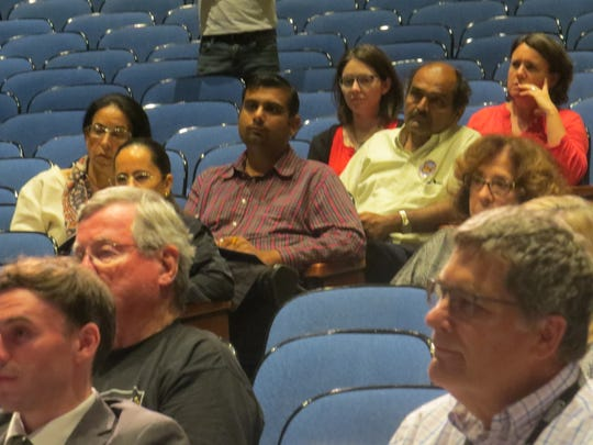 The audience for a meeting about 2020 U.S. Census at Parsippany Hills High School.  Sept. 5, 2019.