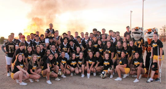 Alamogordo High School celebrated its 2019 Homecoming with a bonfire Sept. 5 and parade Sept. 6.