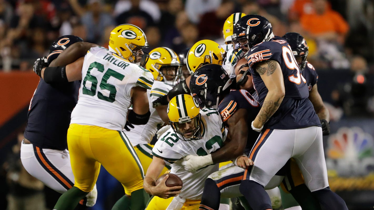 Packers' offensive line ready for redemption after brutal Bears opener