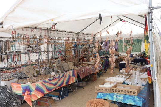 The bi-annual trade fair will feature a wide variety of items, from gemstones to dream catchers. The fair will take place over Oct. 2-6, 2019.