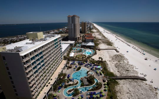 A majority of Escambia County Commissioners voiced support for raising the hotel bed tax but one cent, but only after they finalize a list of projects that it would fund.