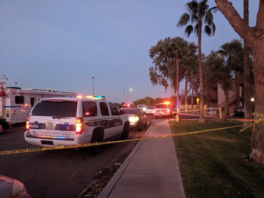 A stabbing took place on Sept. 5, 2019 on West Palm Lane, bringing in a heavy police presence.