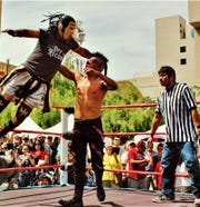 During Somos Peoria, lucha libre wrestlers from Club Deportivo Coliseo will go up against each other.