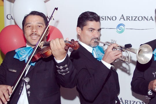 For its Fiestas Patrias celebration, Casino Arizona will have traditional mariachi and folklorico groups.