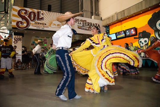 The Arizona Diamondbacks' annual Hispanic Heritage Day will have special mariachi and folklorico performances.