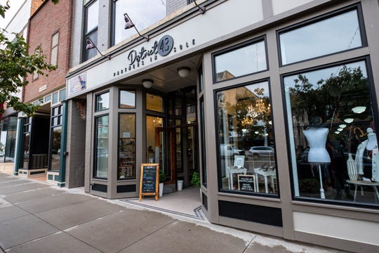 District No. 43 is a small business in downtown Port Huron that opened in September. Owner Jorja Baldwin said she is considering applying for small business loans after the coronavirus pandemic impacted hers and other businesses in downtown.