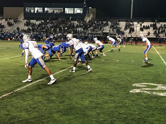 McQueen downed Carson, 41-11 on Thursday night at Carson.