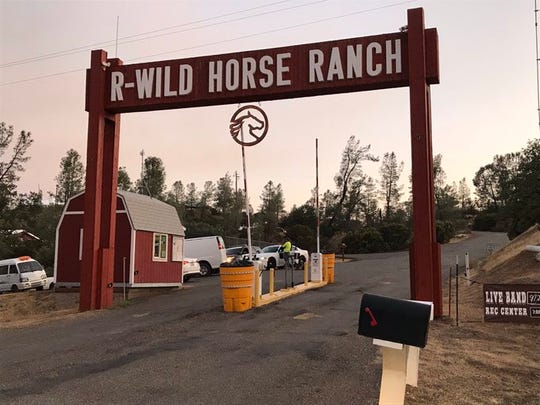 R-Wild Horse Ranch was under recommended evacuation on Thursday, due to the Red Bank Fire.
