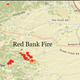 Red Bank Fire map: Here's where evacuations have been ordered