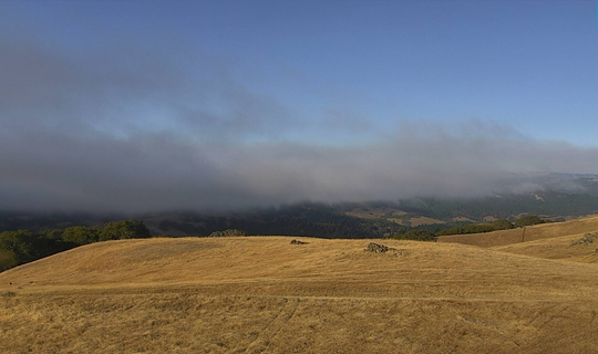 The 4,300-acre Red Bank fire burns west of Red Bluff.