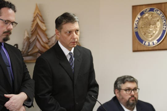 Peter ZielinskI, 48, was sentenced Thursdayto life in prison with the possibility of parole after 25 years for shooting and killing his wife at their Keizer home in January 2011.