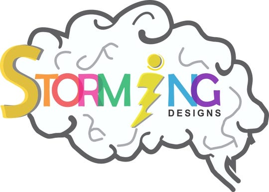 Storming Designs is an online business that offers painting classes.
