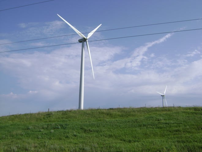 South Dakota ranks third in the nation for the number of homes that are powered by wind energy.