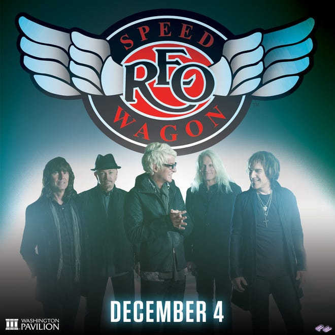 REO Speedwagon is coming to Sioux Falls on Wednesday, Dec. 4, 2019.