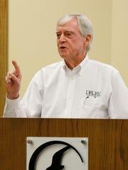 Former Drury University President Todd Parnell