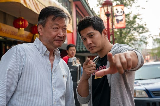 Byron Mann and Tzi Ma star in the Netflix series 'Wu Assassins'