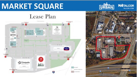 Proposed Lease Plan for Market Square
