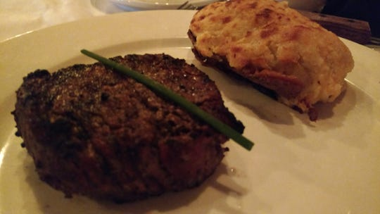 Vero Prime's 8-ounce medium–grilled filet mignon was tender and juicy and done just right with a tantalizing blend of herbs and spices.