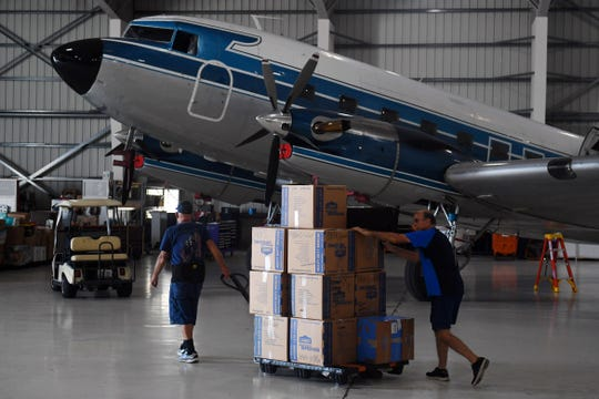 Missionary Flights International, out of the Treasure Coast International Airport and Business Park in Fort Pierce, is taking donations from the public to be sent to the Bahamas to aid in the relief effort after Hurricane Dorian ravaged the island chain. The organization, which makes routine flights to the Haiti, hopes to make their first delivery to the Bahamas later the weekend.