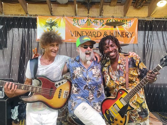 Enjoy reggae music by Freeport native Cecil Smith and his band, Stormy & the Treblemakers, at the Wine Down for Immediate Dorian Relief at Summer Crush Vineyard & Winery, north of Fort Pierce.