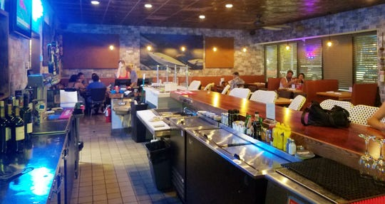 Crabby's Oyster Bar in Jensen Beach is warm and welcoming with a nice neighborhood feel.