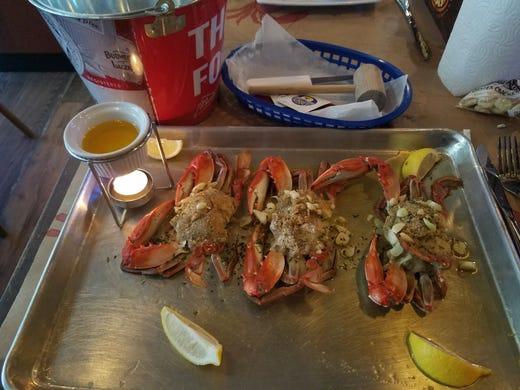Restaurant Review Crabby S Oyster Bar In Jensen Beach