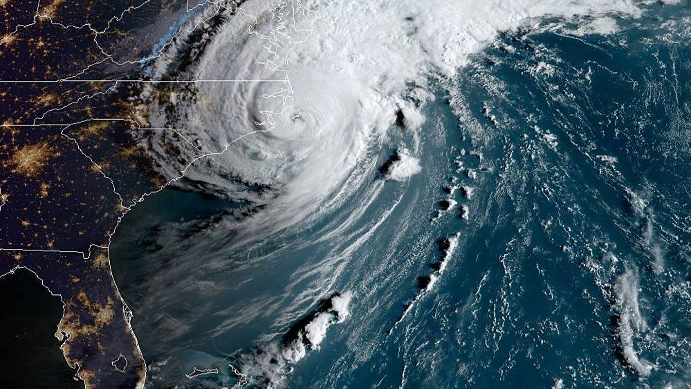 Hurricane Dorian: How the storm will impact Maryland, Virginia, Delaware on Friday