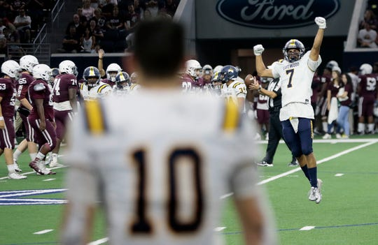 Eastwood and Plano high schools faced off Thursday night at the Ford Center in Frisco, Texas. The game, which was originally cancelled by Plano, was played as a show of unity between the schools. The person who killed 22 and wounded 25 others at Walmart in El Paso graduated from Plano High School.
