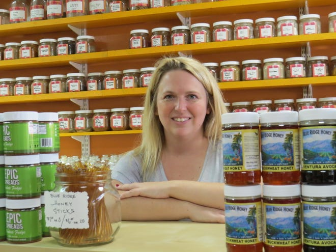 """We work with over 40 local purveyors,""                              says Ashley Pope, the current owner of SpiceTopia in downtown Ventura. Pope announced this week that she plans to either sell or close the store specializing in gourmet food items."