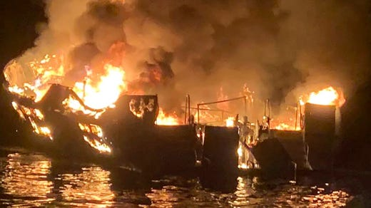 Santa Cruz Island boat fire: Here's what California officials are saying