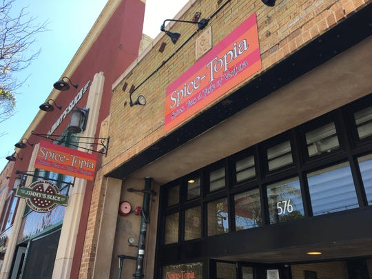 Now known as SpiceTopia, the shop bears its original Spice-Topia signage at 576 E. Main St. in downtown Ventura.
